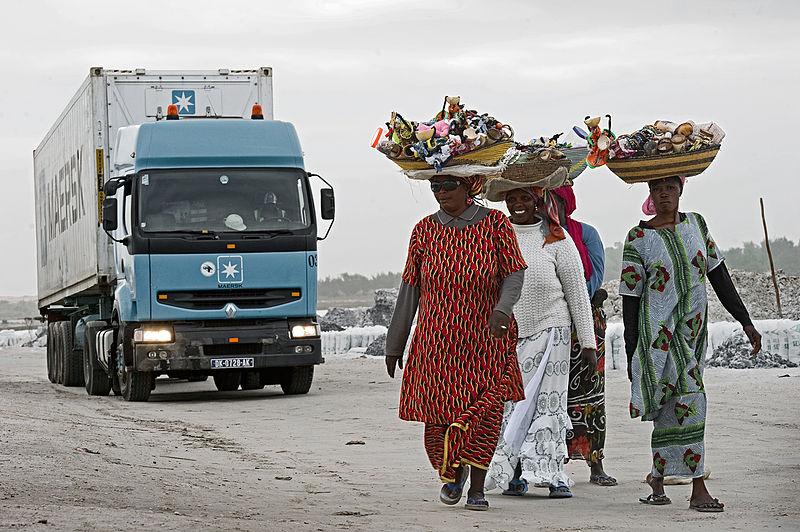 Container largo para Senegal