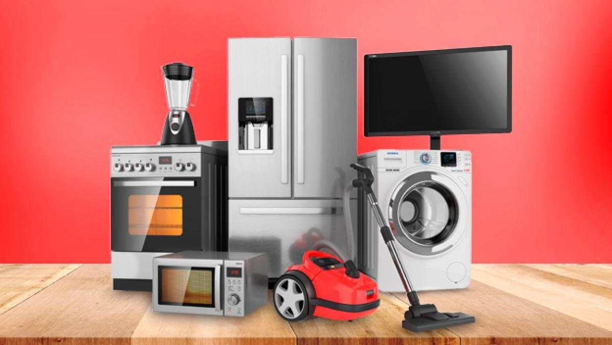 Electrodomésticos y aparatos para efectuar un porte