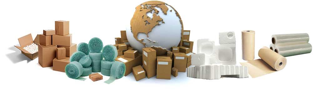 Materiales de todos los estilos para embalar mobiliario y complementos