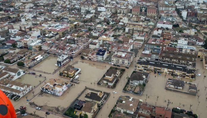 Inundación en Los Alcázares